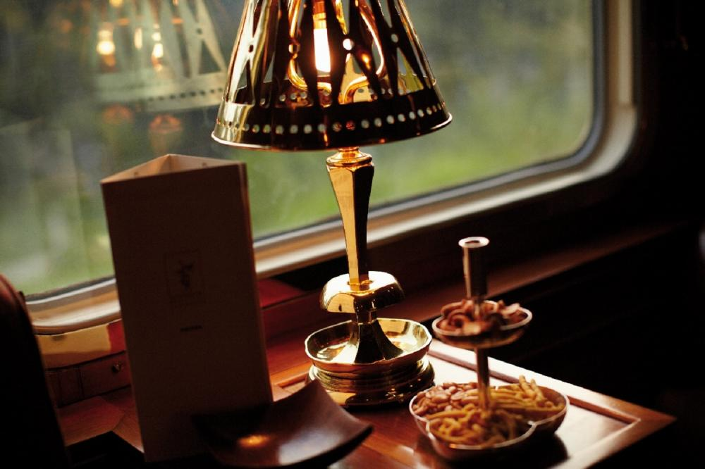 菜單/內部空間/豪華列車/Eastern & Oriental Express/旅遊/東南亞