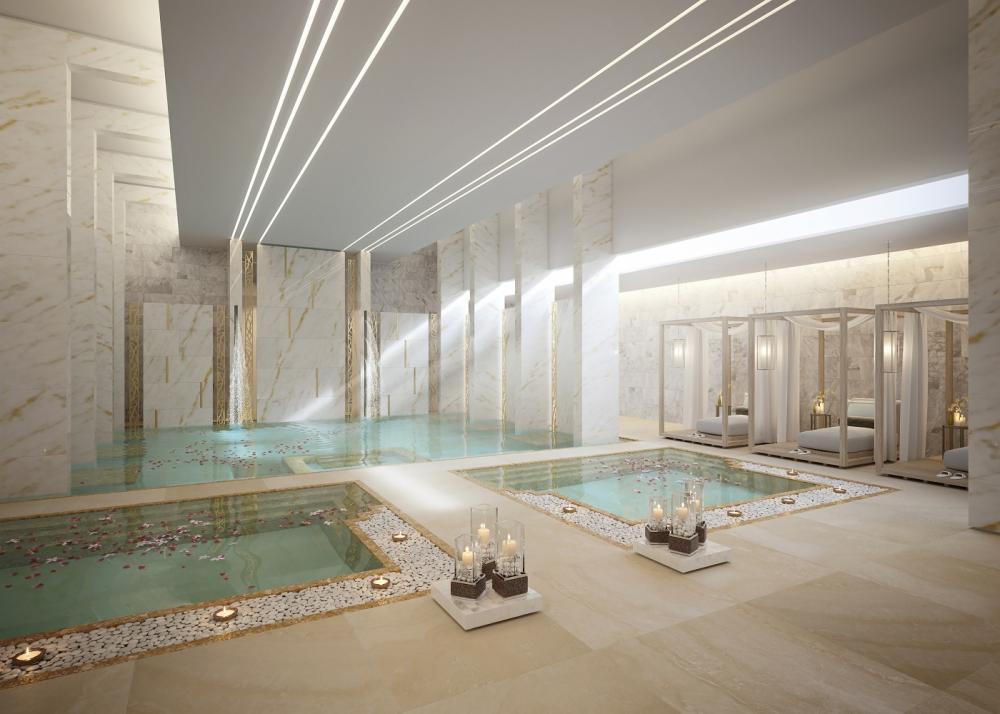 水療池/Zulal Wellness Resort/住宿/中東