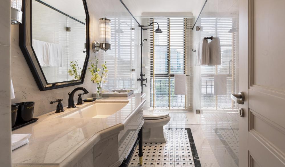 浴室/Bach Suites Saigon/住宿/胡志明市/越南