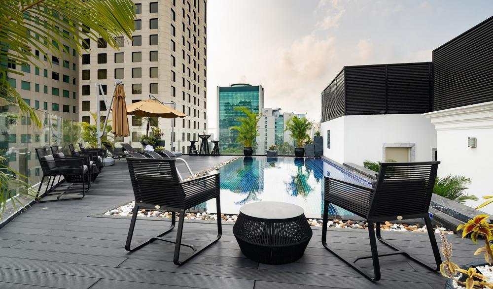 游泳池/Bach Suites Saigon/住宿/胡志明市/越南