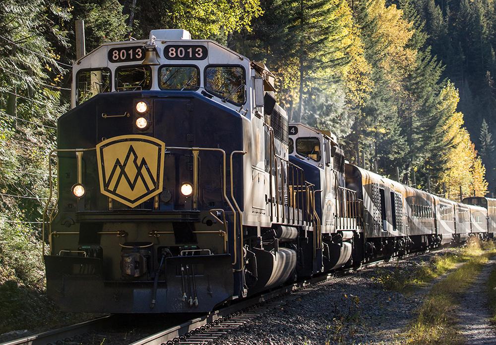 外觀/洛磯山登山者號/Rocky Mountaineer/列車/加拿大