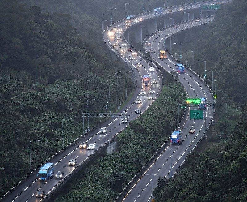 國5南向車流/高公局預測/台灣