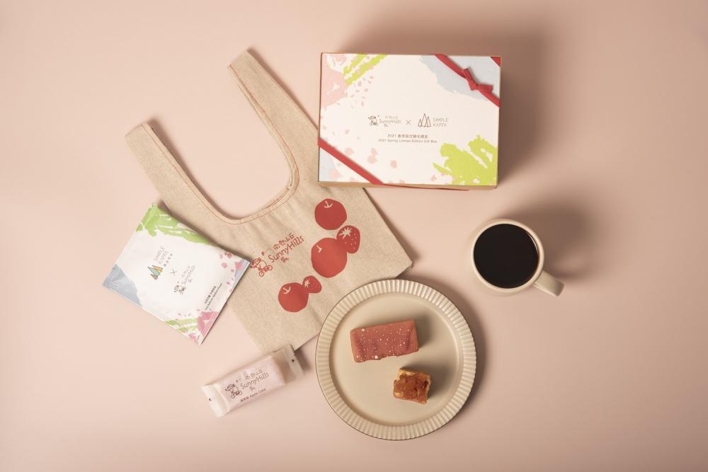草莓蘋果酥/聯名禮盒/興波咖啡/微熱山丘/美食/台灣