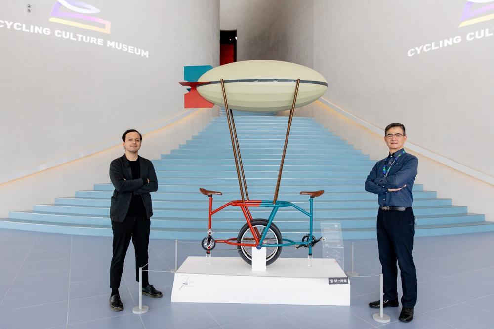 營運總監/館內/自行車文化探索館/旅遊/台中/台灣