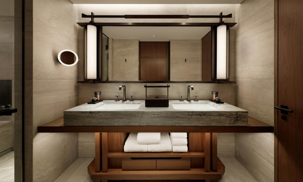 浴室/房間/HOTEL THE MITSUI KYOTO/住宿/京都/日本