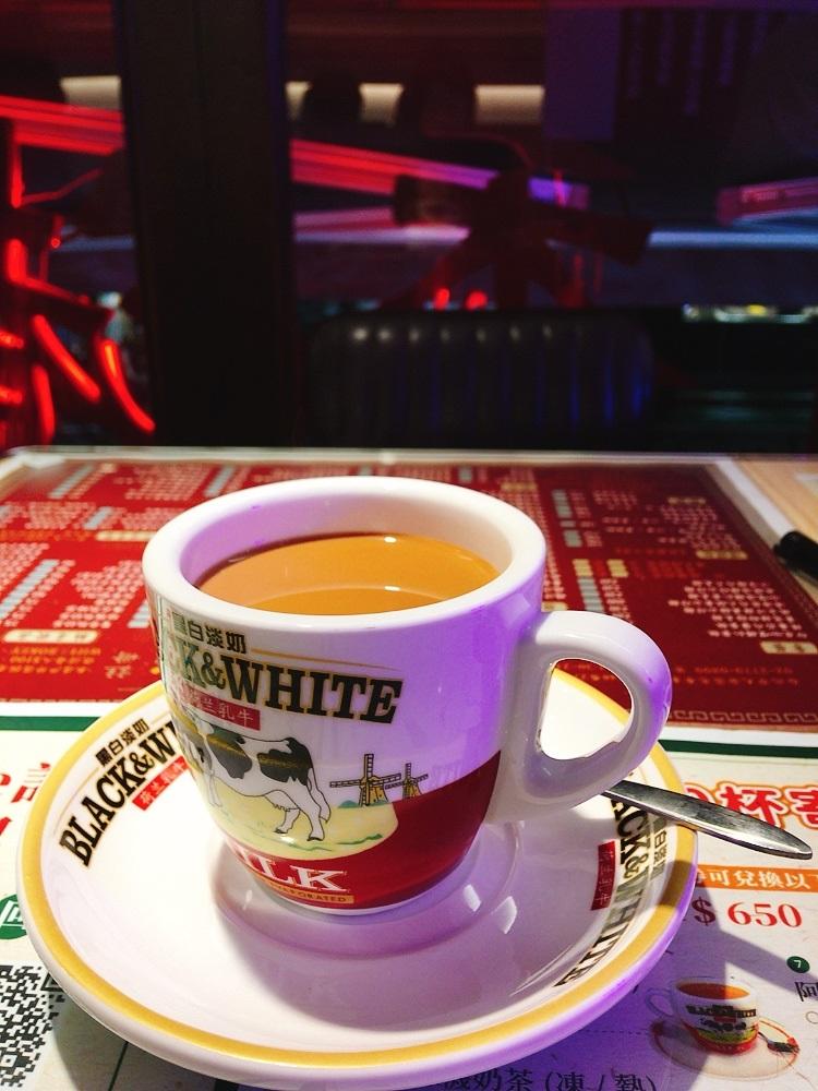 鴛鴦奶茶/港式風格/波記茶餐廳/台北/台灣