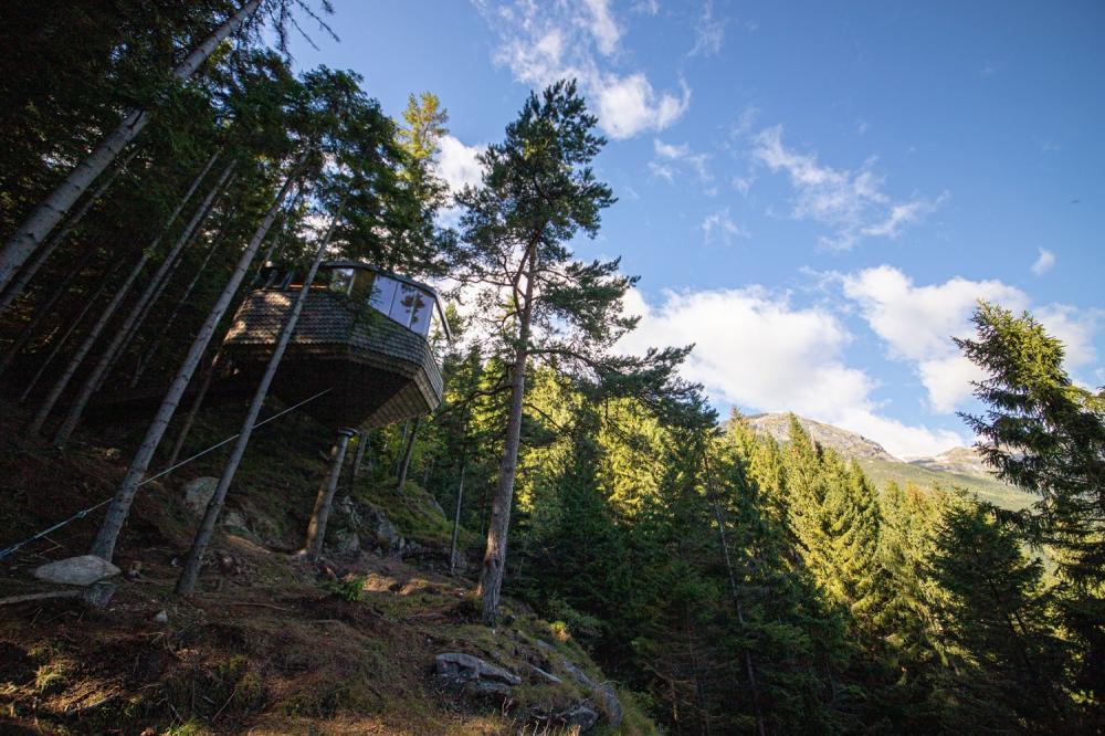 外觀/森林樹屋/Woodnest/住宿/挪威