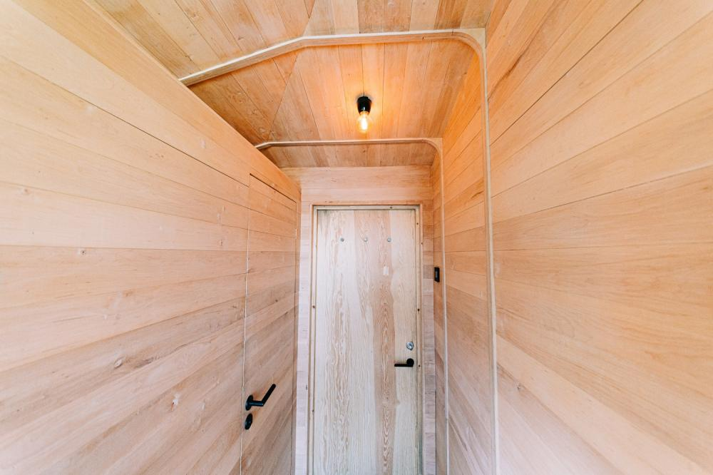 浴室/內部/森林樹屋/Woodnest/住宿/挪威