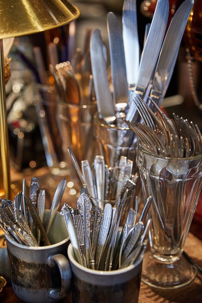 刀/叉/盤/杯/沙丘/老屋咖啡廳/美食/台北/台灣