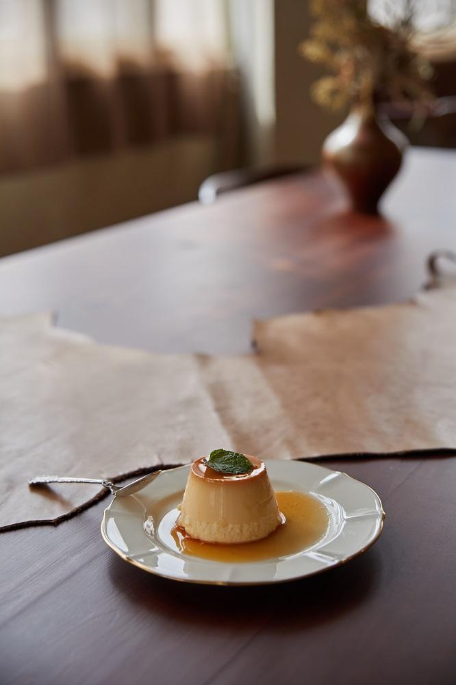 限定版牛奶糖布丁/甜點/沙丘/老屋咖啡廳/美食/台北/台灣