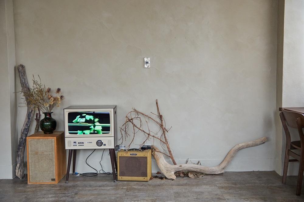 電視/音箱/沙丘/老屋咖啡廳/美食/台北/台灣