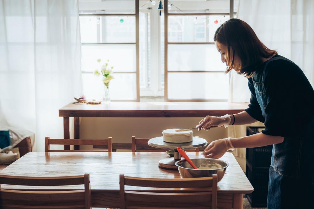 店內環境/Olive's Baking甜點工作室/預約制甜點/美食/台北/台灣