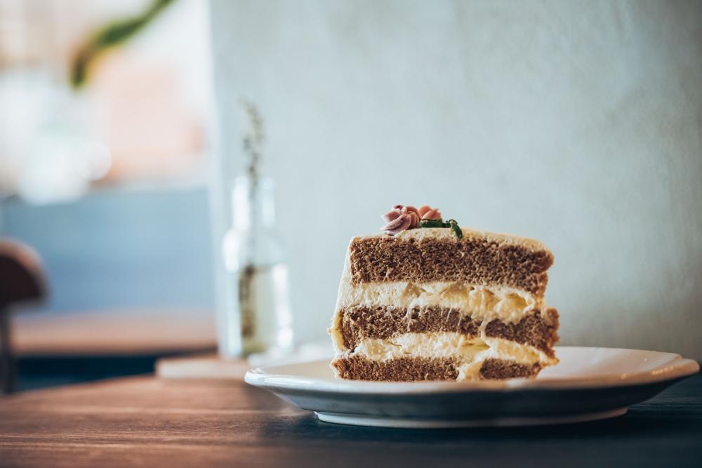 伯爵白酒甜桃奶油蛋糕/香甜‧生活/甜點工作室/美食/台北/台灣