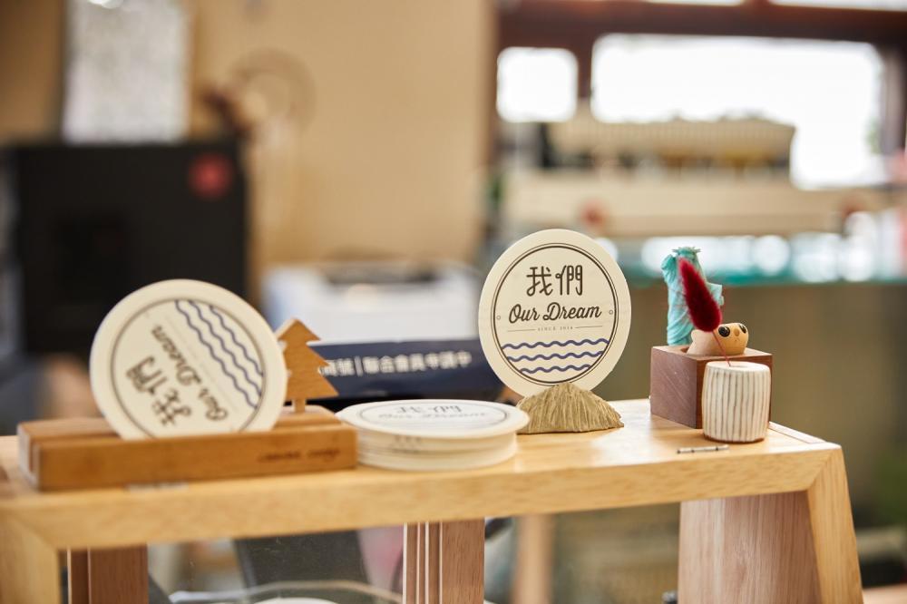 店名片/我們Our甜點工作室/老宅甜點店/美食/台北/台灣