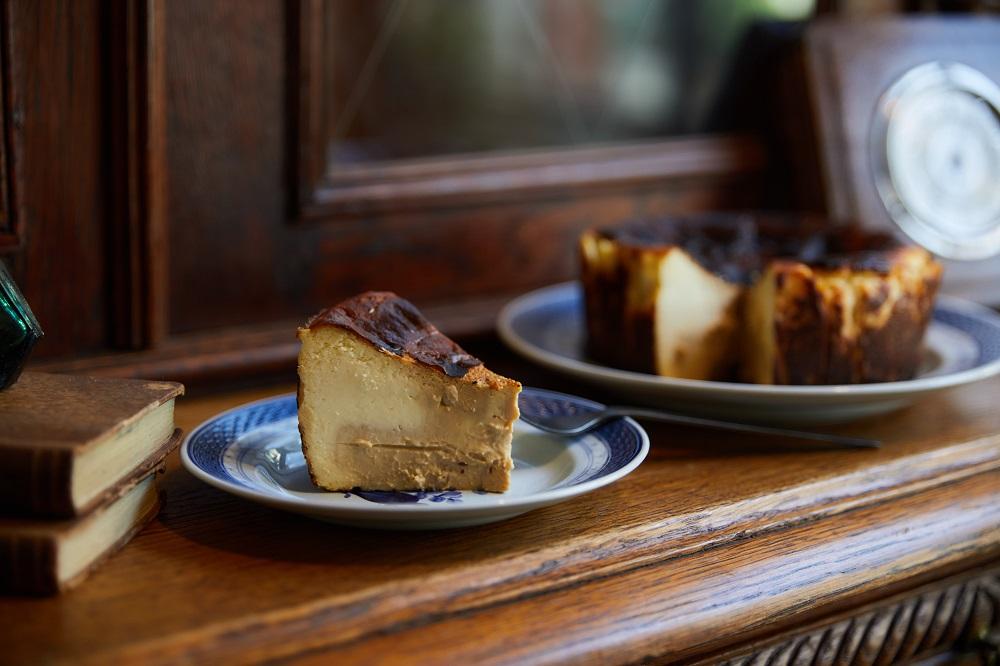 森林巴斯克焦香乳酪蛋糕/甜點/寧靜森林/咖啡廳/美食/台南/台灣