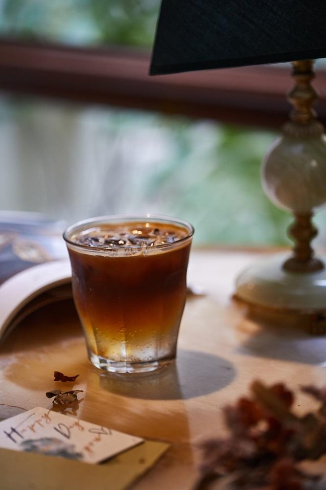 森林特調咖啡通寧/飲料/寧靜森林/咖啡廳/美食/台南/台灣