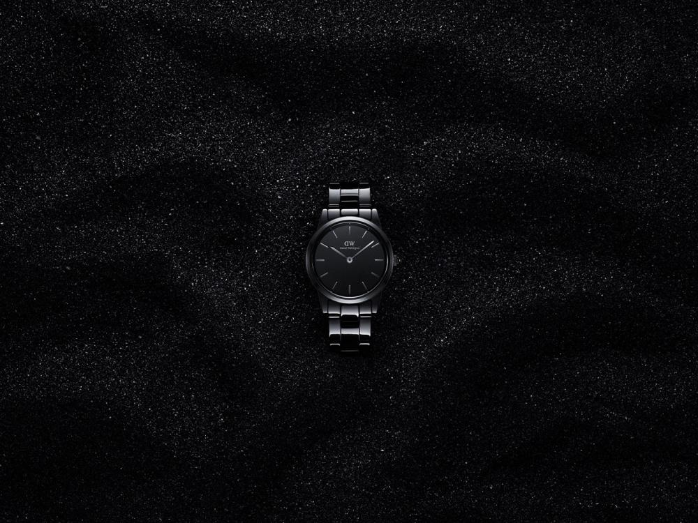 黑瓷錶/Daniel Wellington/ICONIC LINK系列/台灣