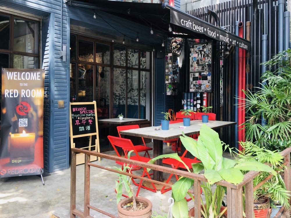 店外觀/素食料理/紅房餐酒館/大安區/台北/台灣