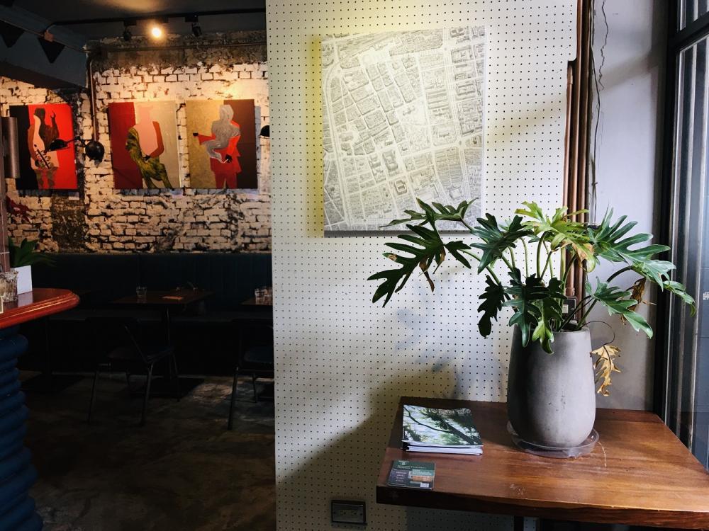 店內環境/素食料理/紅房餐酒館/大安區/台北/台灣
