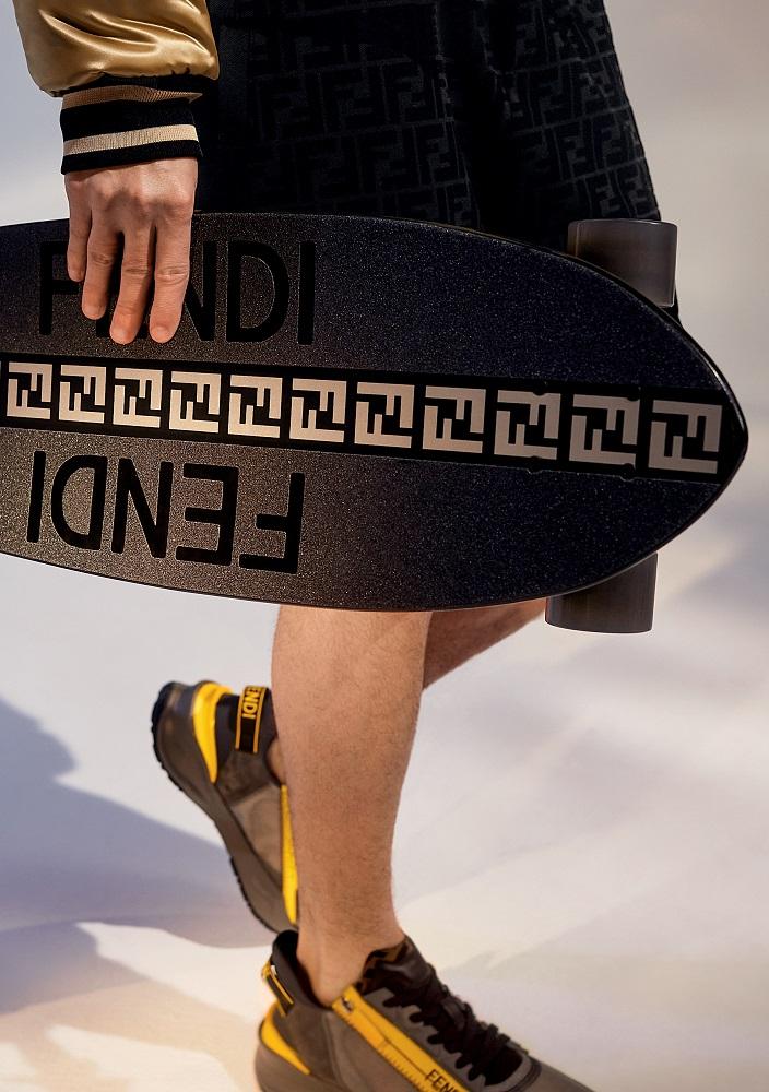 滑板/FENDI/2021春季新款/台灣