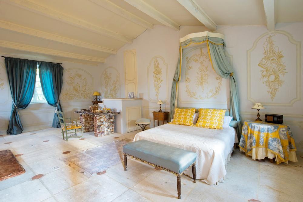 客房/南法古典城堡/住宿/聖維克托拉科斯特/法國