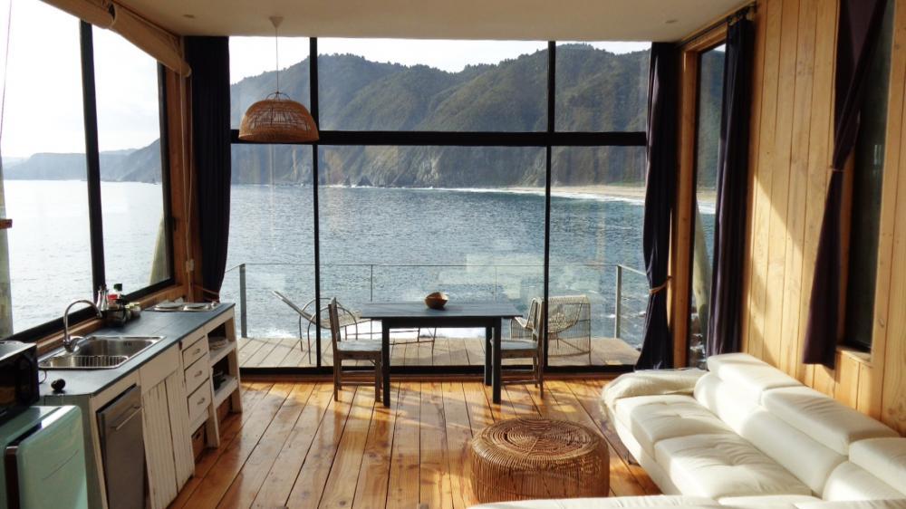 客房/海景獨棟木屋/住宿/卡薩布蘭卡/智利