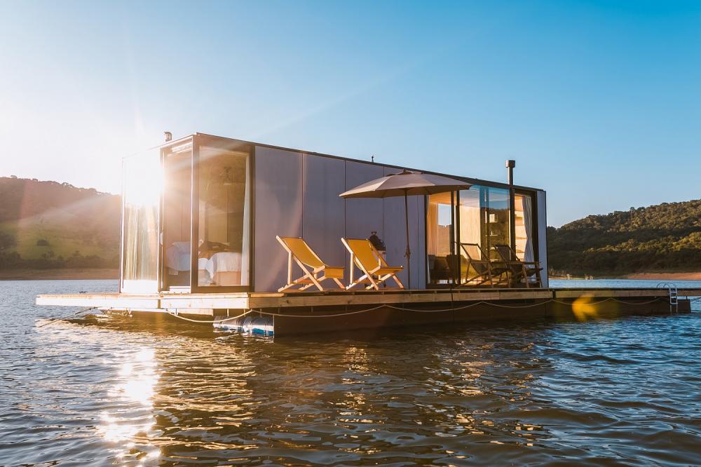飯店外觀/水上漂浮船屋/住宿/聖保羅/巴西