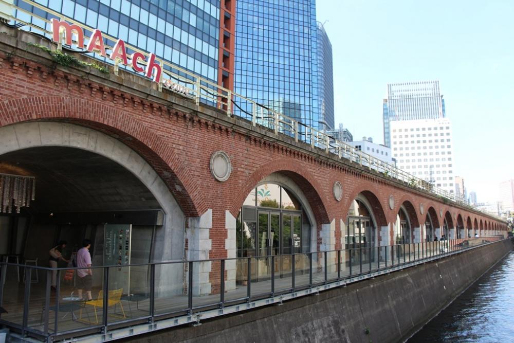 外觀/mAAch ecute/高架鐵橋/東京/日本
