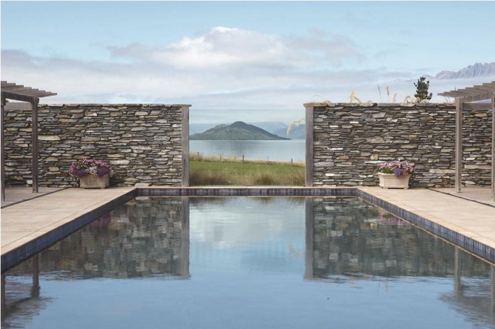 游泳池/戶外風景/Blanket Bay/紐西蘭