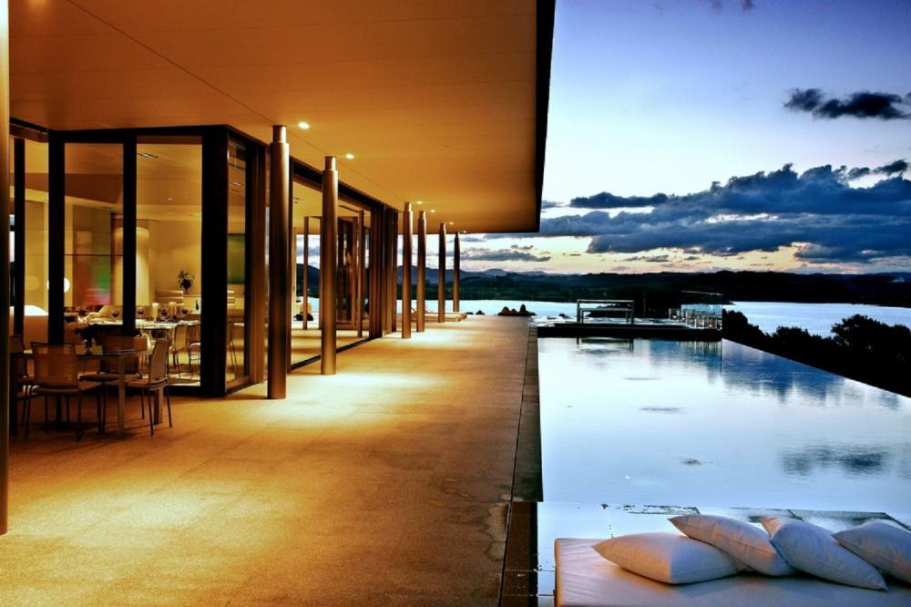游泳池/餐廳/戶外風景/Eagles Nest/紐西蘭