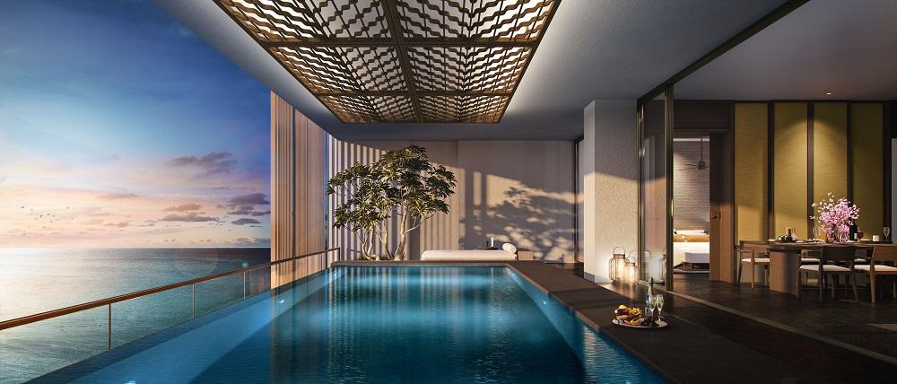 泳池/Regent Phu Quoc/度假村/越南