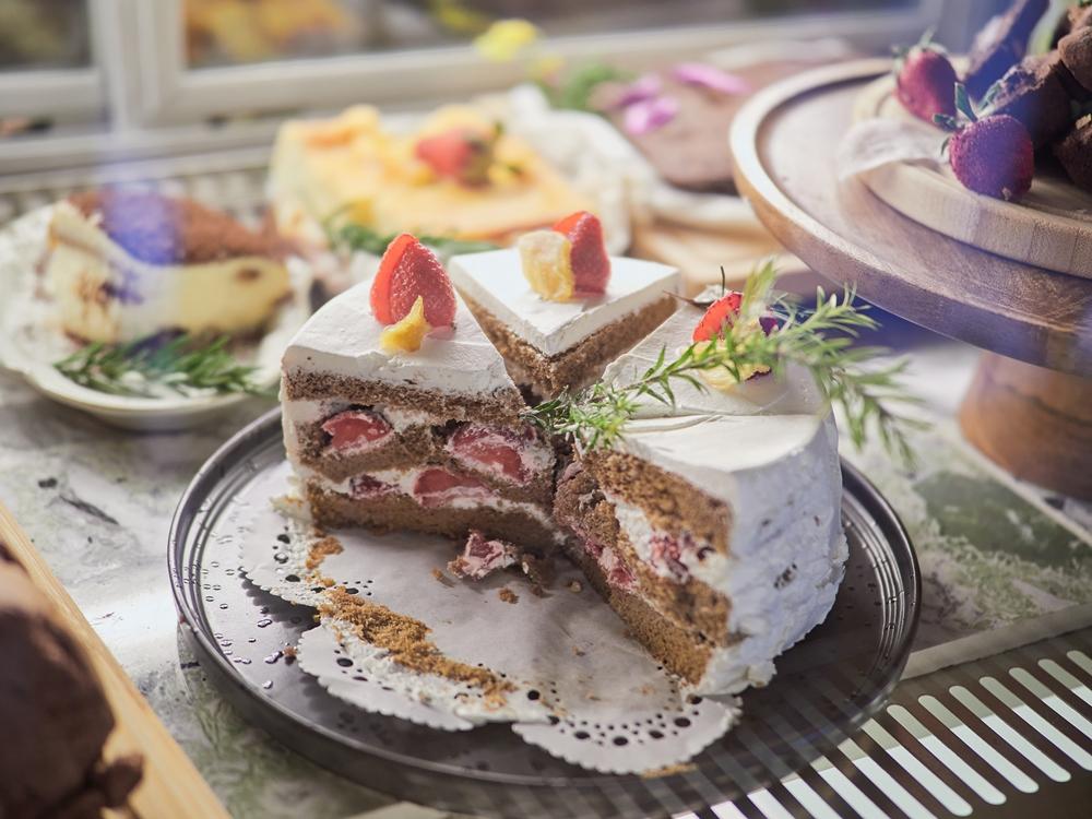 草莓蛋糕/清琳咖啡/三峽/新北/台灣