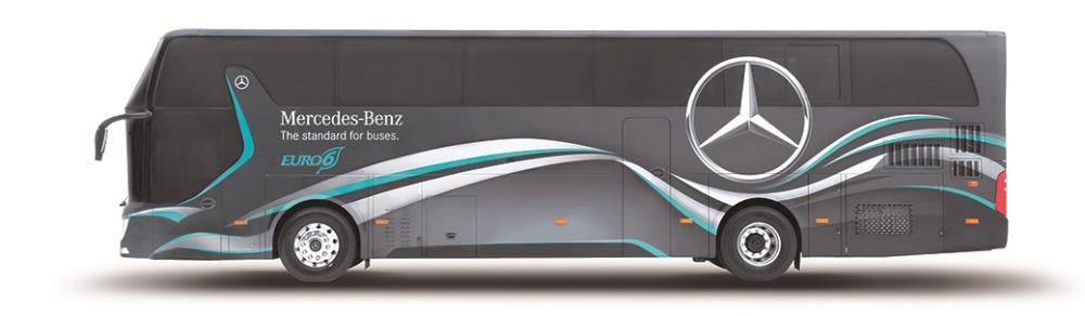 外觀/Mercedes-Benz OC500 戴姆勒賓士六期大客車/順益集團/台灣