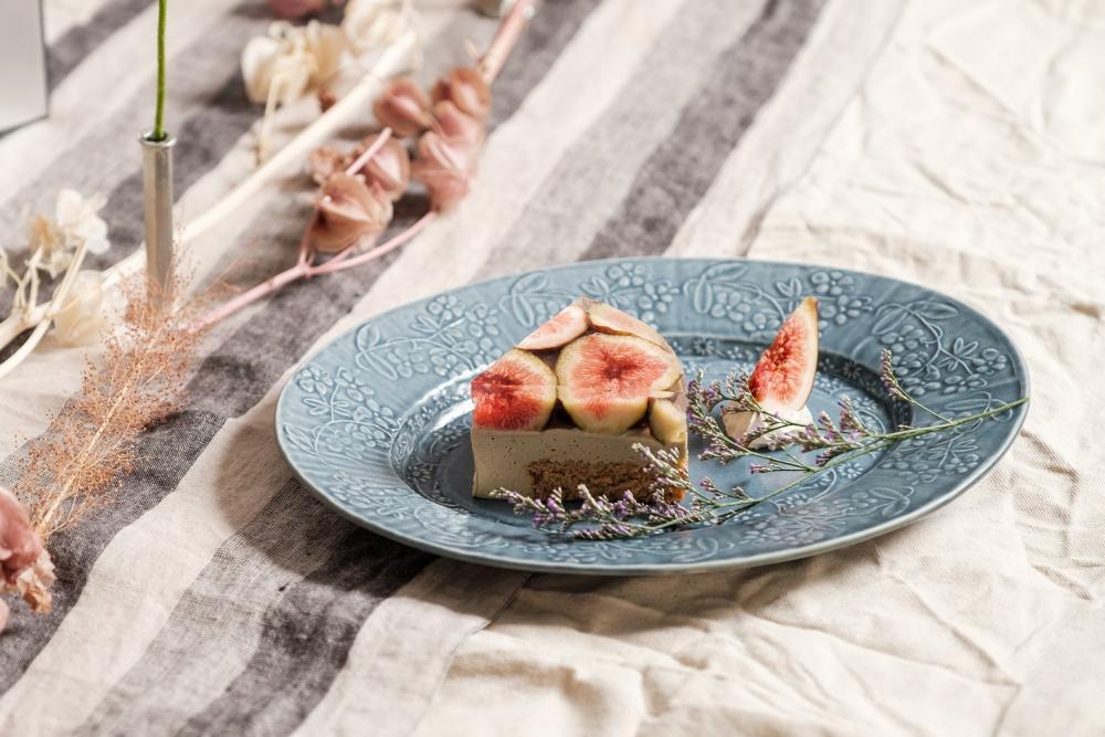 無花果焙茶果凍蛋糕/甜點/Cypress & Chestnut/預約制甜點店/美食/台北/台灣