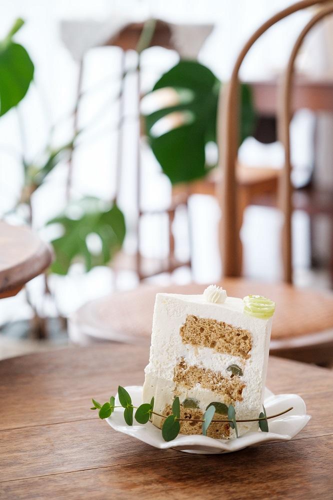 綠葡萄烏龍茶蛋糕/甜點/Cypress & Chestnut/預約制甜點店/美食/台北/台灣