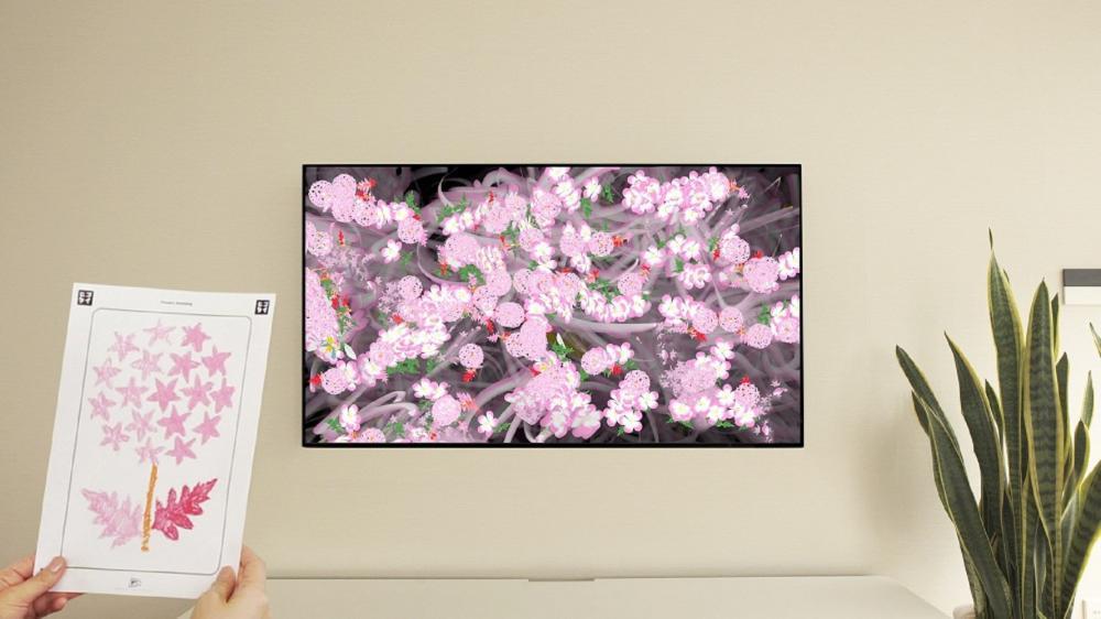 展場/teamLab特展/Flowers Bombing Home/東京/日本