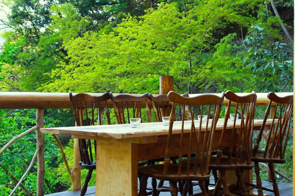 餐桌/森林小屋/WOODLAND BOTHY/東京/日本