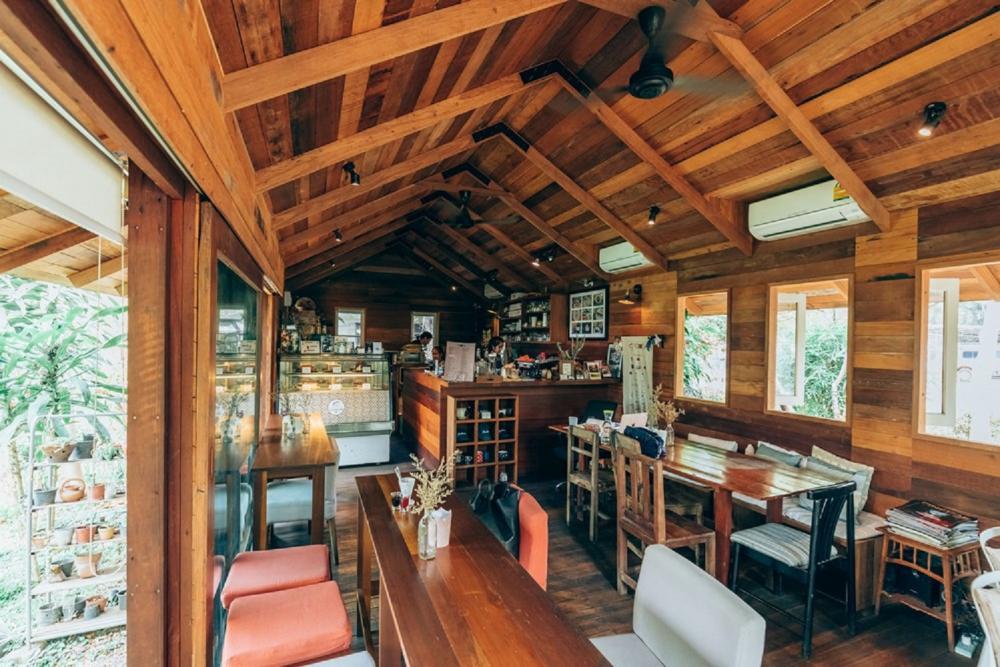 內部/Jaiboon/咖啡廳/清邁/泰國