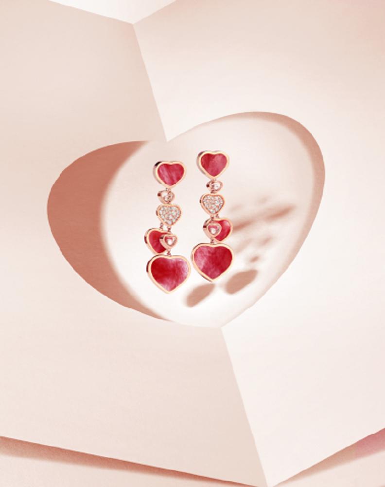 耳環/形象照/外觀/L'Heure du Diamant系列/蕭邦