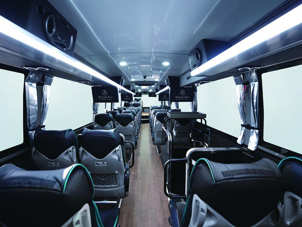 電子氣壓懸吊系統/Mercedes-Benz OC500 戴姆勒賓士六期大客車/順益集團/台灣