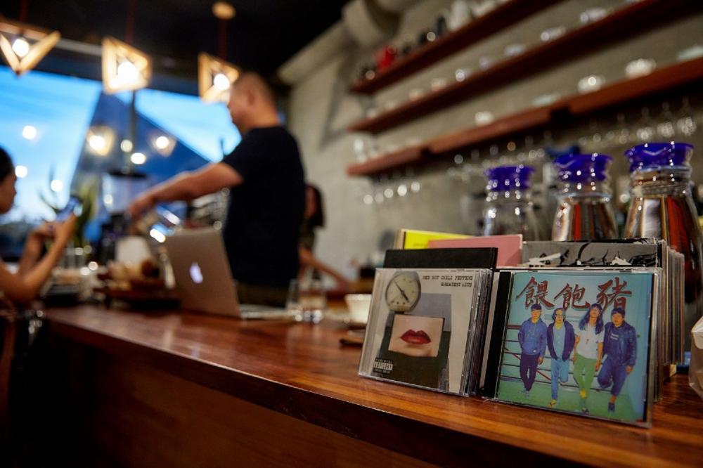 店內擺設/唱片/Maimenla Café/雲林/台灣