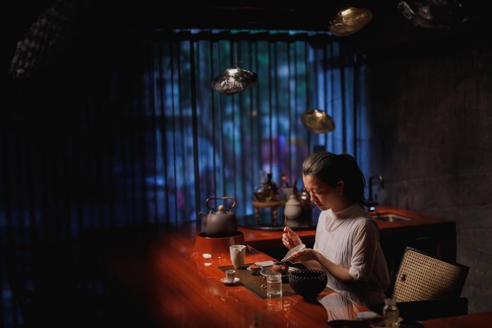 製茶過程/琥泊 Liquide Ambré/台灣茶沙龍/台北/台灣