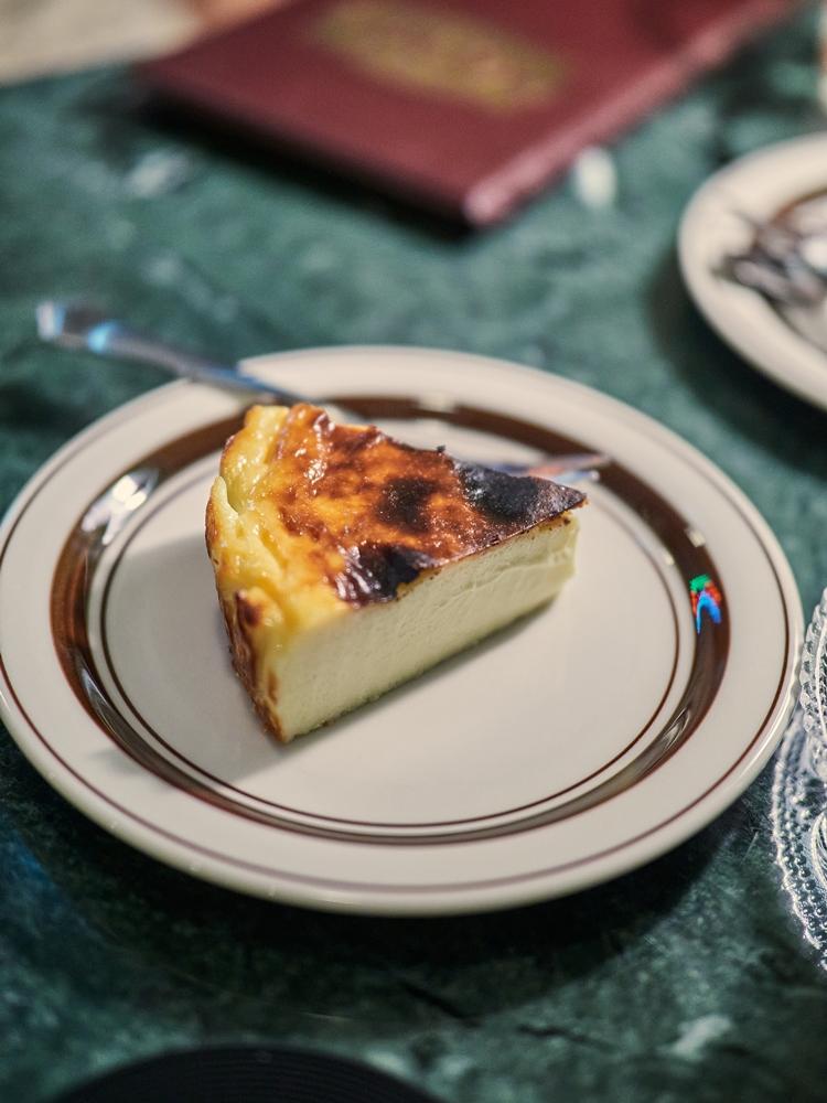 巴斯克乳酪蛋糕/甜點/秋波名曲珈琲/大同區/台北/台灣