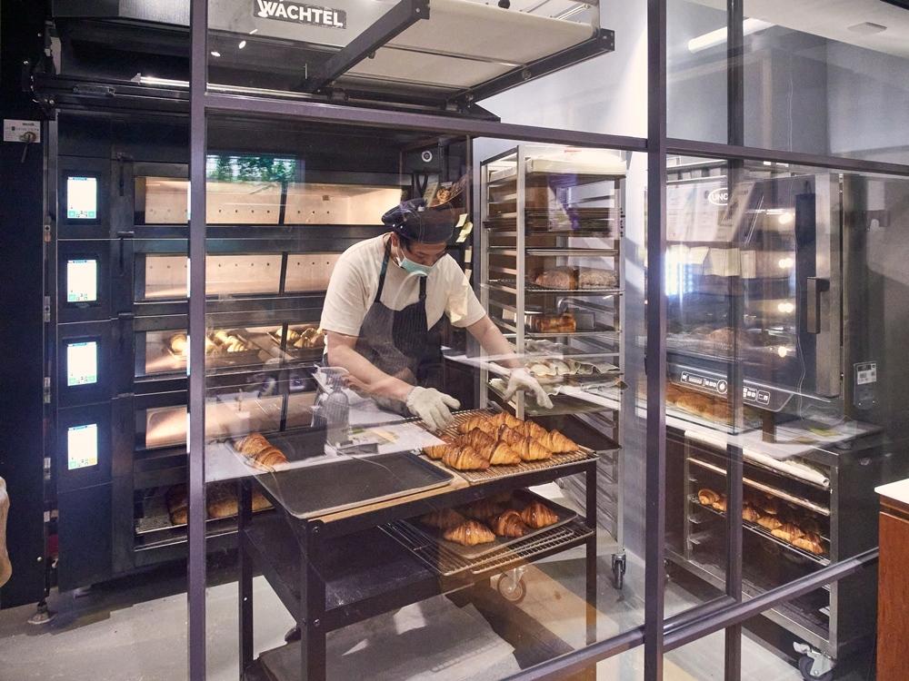 迷人可頌/麵包/內部空間/寶焙 Baobei Bakery/台北/台灣