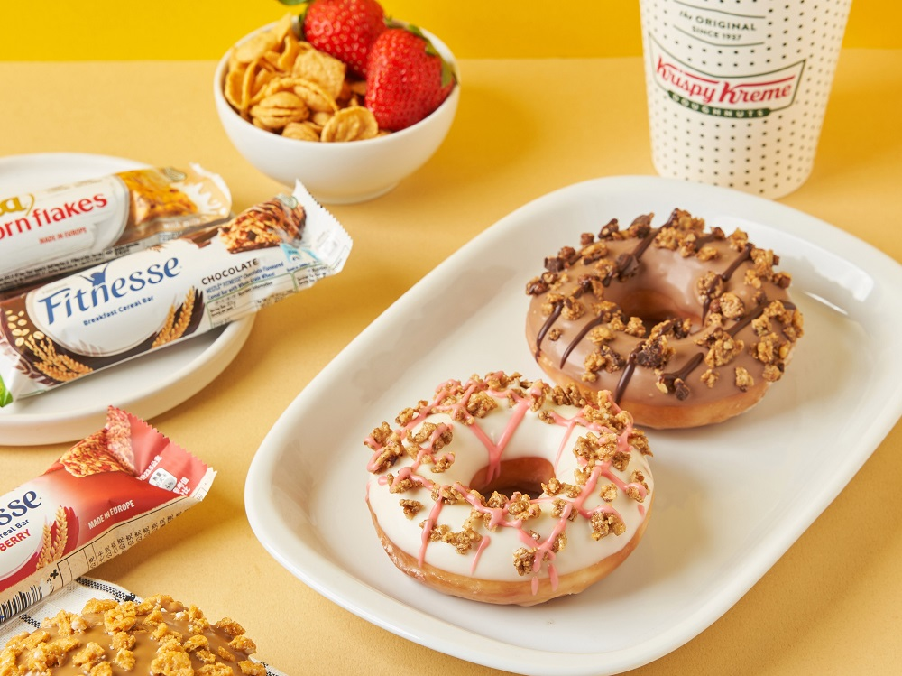 Krispy Kreme/甜甜圈/雀巢聯名/台灣