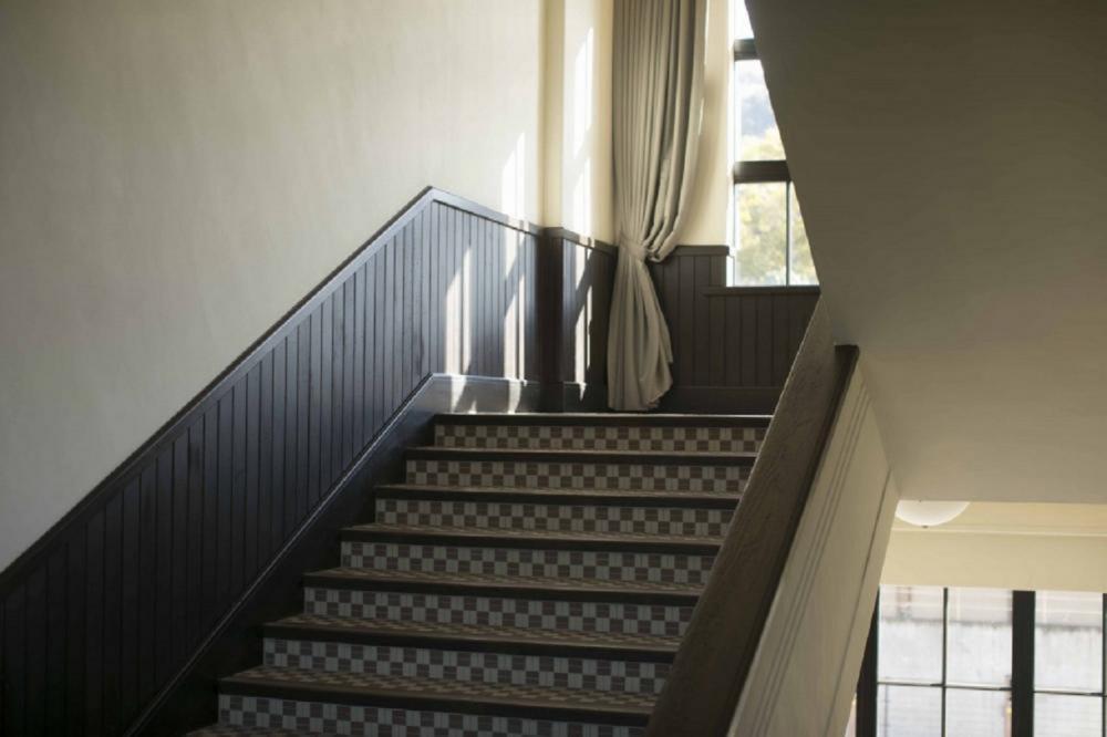 樓梯/室內/青龍飯店/複合式旅宿/京都/日本