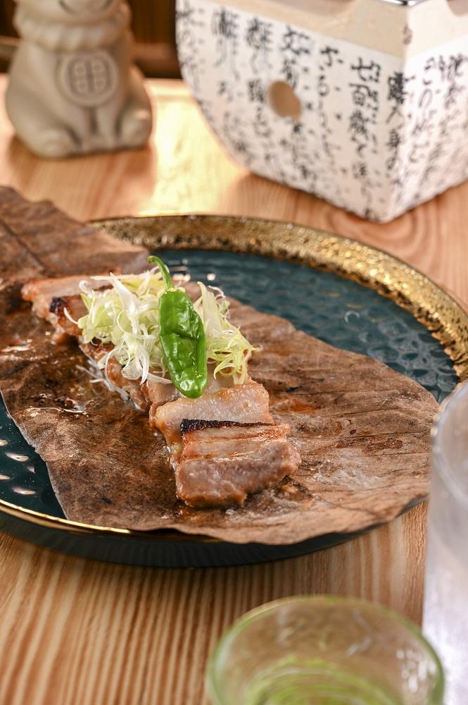 朴葉味噌燒日本豬腩肉/料理/本店 Izakaya by K/居酒屋/日式料理/香港