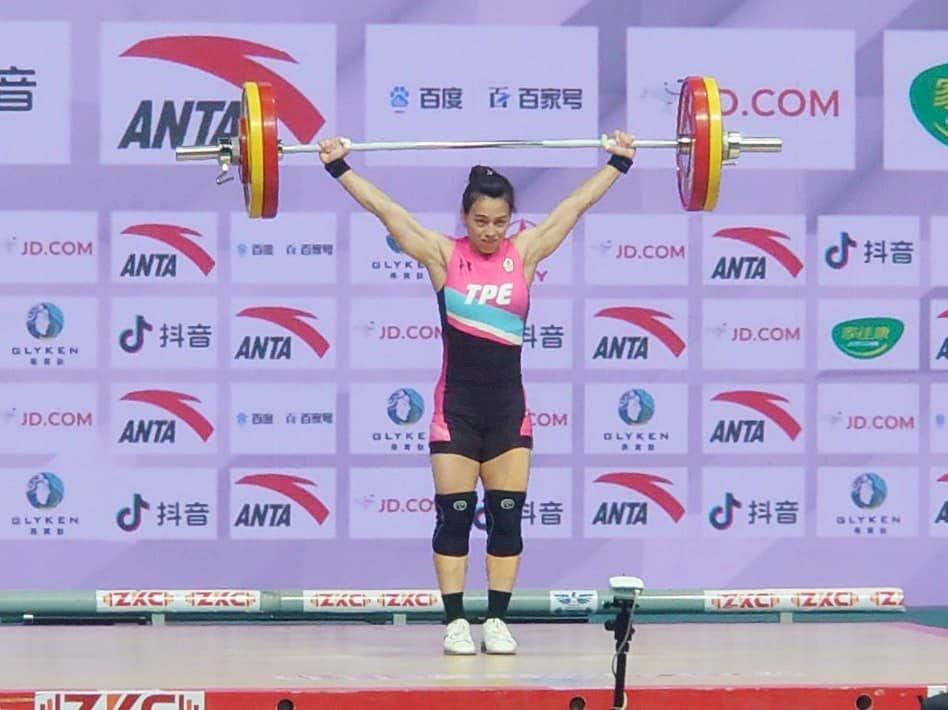郭婞淳/亞洲舉重錦標賽女子59公斤級/台灣