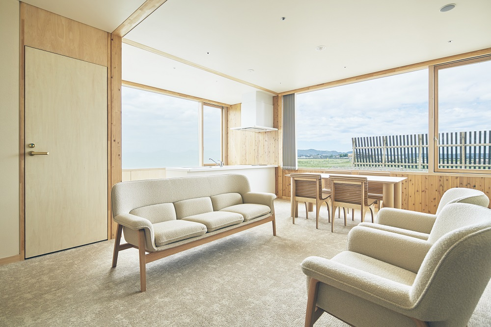 空間/木造旅宿/Shonai Hotel Suiden Terrasse/日本