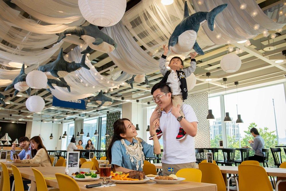 空間/鯊魚主題餐廳/IKEA內湖店/台灣